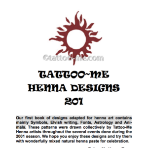 Tattoo Me Designs eBook 201