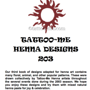 Tattoo Me Designs eBook 203